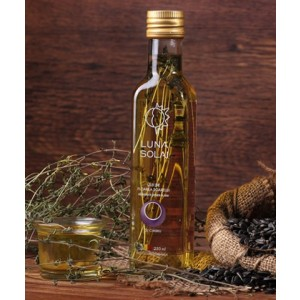 Ulei de floarea soarelui cu cimbru – LUNA SOLAI 250 ml