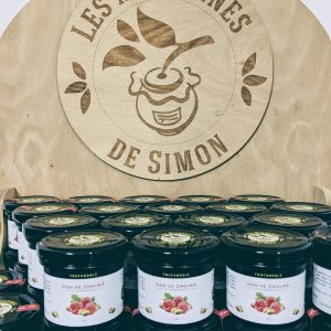 Gem de zmeura cu vanilie – Les Mignonnes de Simon