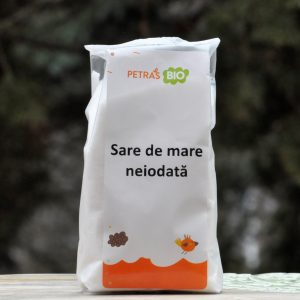 SARE DE MARE NEIODATĂ BIO 500G